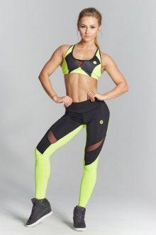 Gym Glamour Legíny Green Fluo XS