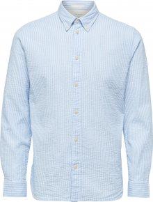 SELECTED HOMME Košile bílá / světlemodrá