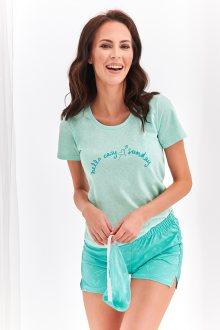 Krátké dámské pyžamo 2361 NIKA S-XL márová XL