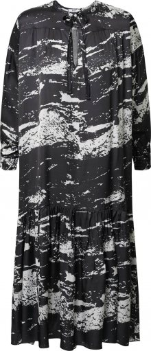 Liebesglück Košilové šaty bílá / černá