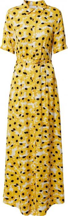Fabienne Chapot Košilové šaty \'Mia\' žlutá
