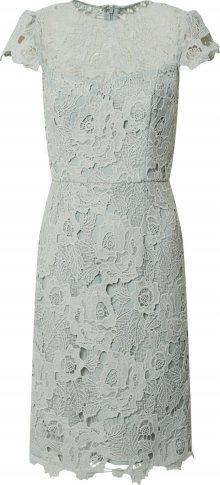 Chi Chi London Koktejlové šaty \'Oceana\' světle šedá