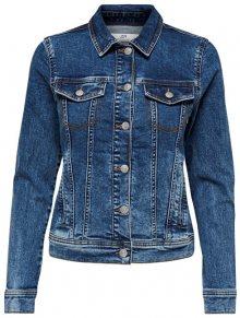 Jacqueline de Yong Dámská džínová bunda JDYFARIA 15180019 Medium Blue XS