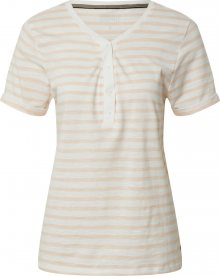 ESPRIT Tričko bílá / broskvová
