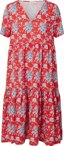 Rich & Royal Letní šaty červená / modrá