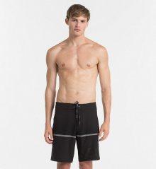 Calvin Klein Plavkové Šortky Boardshorts Black M