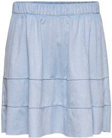 ONLY Dámská sukně ONLCARMA FAUX SUEDE SKIRT OTW NOOS Cashmere Blue S