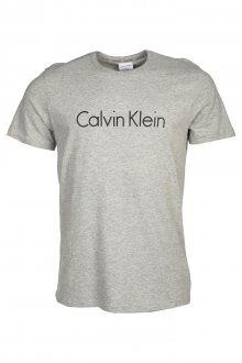 Calvin Klein Pánské Tričko Šedé XL