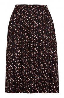 Vzorovaná sukně Fredrika / černá/se vzorem