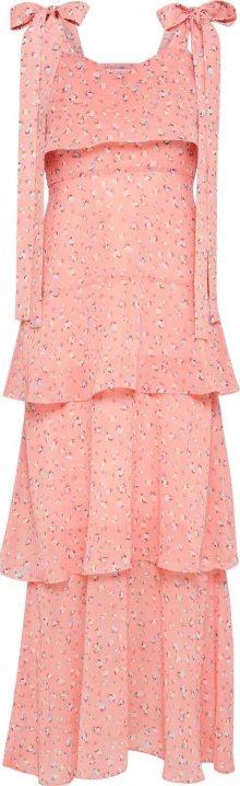 EDITED Letní šaty \'Glorie\' mix barev / růžová