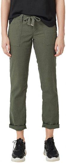 Q/S designed by Dámské kalhoty 46.904.73.2106.7929 Olive 36