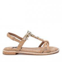 XTi Camel Microfiber Ladies Sandals 49938 Camel 37