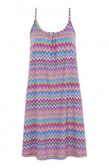 Plážové šaty s klikatým vzorem / se vzorem