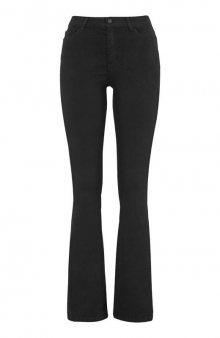 Kalhoty bootcut s vysokým pasem Francis / tm. denim - 79 cm , 84 cm