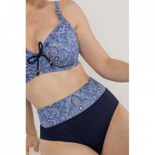 Plavkové kalhotky Dorina D01130M - barva:DORON111/modrý vzor, velikost:M