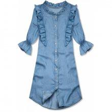 Světle modrá tunika/šaty