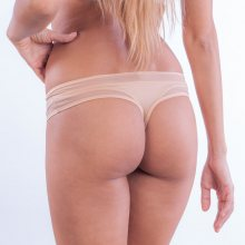 Calvin Klein Tanga Naked Touch Tělové XS