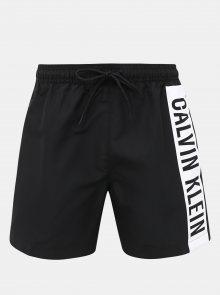 Černé pánské plavky s potiskem Calvin Klein Underwear