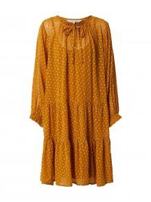 Part Two Košilové šaty \'Banu DR\' rezavě hnědá / hořčicová