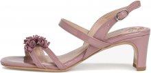 Tamaris Dámské sandále 1-1-28336-24-542 Mauve Patent 37