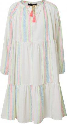 Zwillingsherz Letní šaty \'Amber\' mix barev / bílá