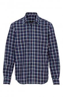 Košile / nám. modrá/kostkovaný vzor