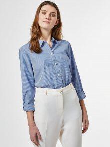 Modrá pruhovaná košile Dorothy Perkins