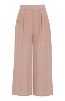 Kalhoty Mandy / mat. růžová