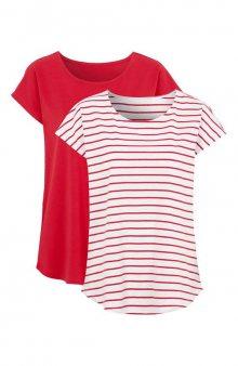Tričko 2 pack 2 Pack / červená+červená/bílá