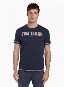Tmavě modré pánské tričko Tom Tailor