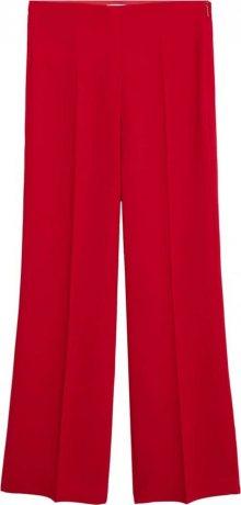MANGO Kalhoty s puky \'palachin\' červená