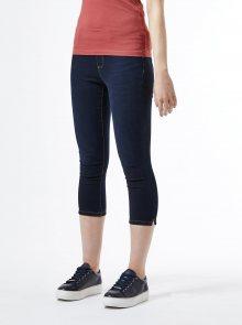 Tmavě modré 3/4 skinny fit džíny Dorothy Perkins