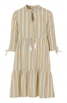 Šaty Odette / béžová/žlutá