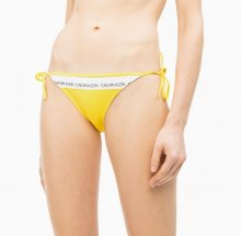 Calvin Klein Plavky CK Logo Yellow Spodní Díl M