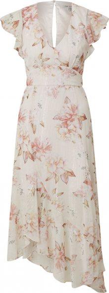 Forever New Letní šaty \'Jenna\' růžová / bílá