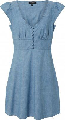 Banana Republic Letní šaty \'CHAMBRAY\' modrá džínovina