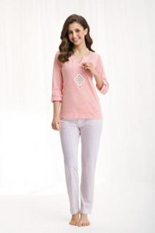 Dámské pyžamo 449 růžová XXL