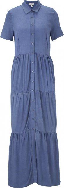 heine Letní šaty modrá džínovina