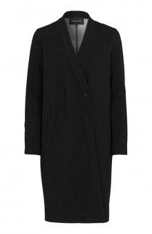 Strečový kabát Stefanie / černá