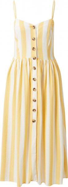 Mavi Letní šaty krémová