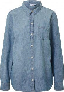 Missguided Šaty \'Textured Utility Shirt Dress\' modrá džínovina