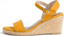 Tamaris Dámské sandále 1-1-28300-24-684 Mustard 36