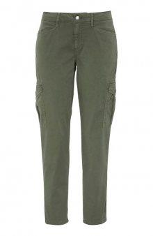 Kalhoty s kapsami na nohavicích Samira / khaki