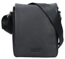 Lagen Pánská kožená crossbody taška 15016 - Blk
