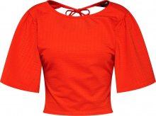 Fashion Union Tričko \'IBIZA\' červená
