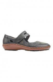 Kožená obuv / černá