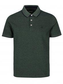 Tmavě zelené slim fit polo tričko Original Penguin
