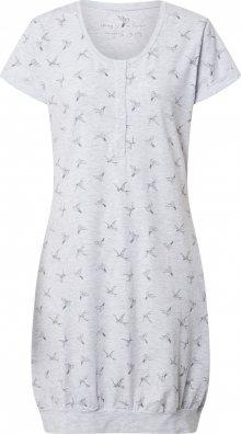 ESOTIQ Noční košilka \'BIRDY\' světle šedá