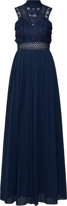 Chi Chi London Společenské šaty modrá