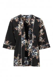 Kimonová halenka Jelena / růžová/se vzorem